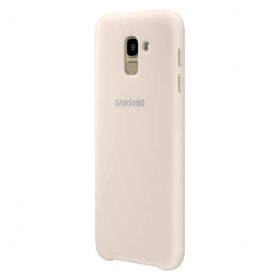 SAMSUNG Coque Double Protection Or Galaxy J6 2018