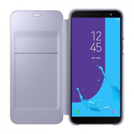 SAMSUNG Flip Wallet Lavande Galaxy J6 2018