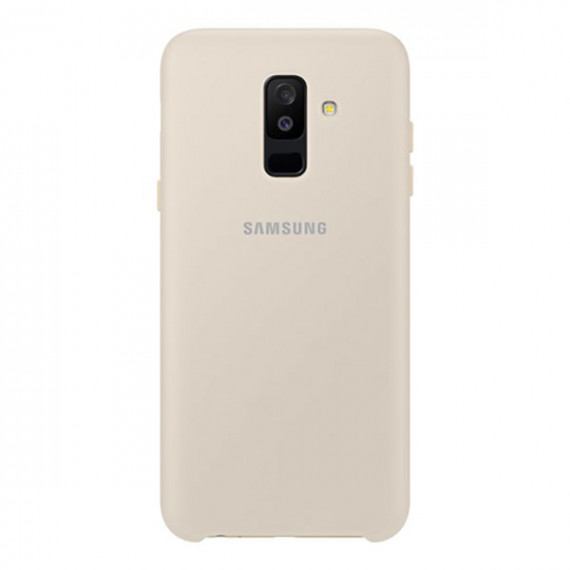 SAMSUNG Coque Double Protection Or Galaxy A6+ 2018