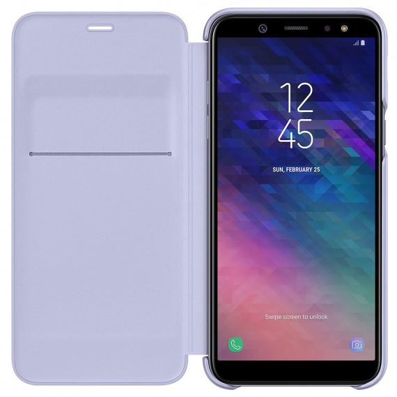 SAMSUNG Flip Wallet Lavande Galaxy A6 2018