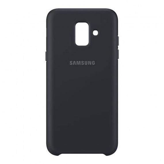 SAMSUNG Coque Double Protection Noir Galaxy A6 2018