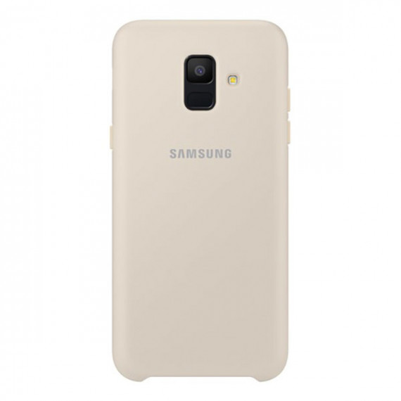 SAMSUNG Coque Double Protection Or Galaxy A6 2018