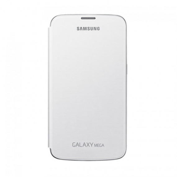 SAMSUNG Flip Cover Blanc Galaxy Mega 6.3