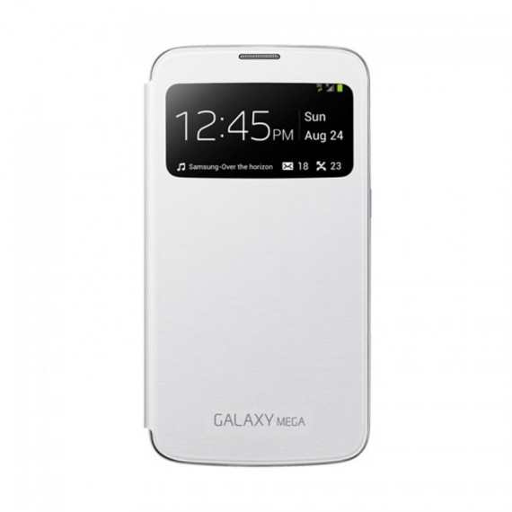 SAMSUNG S-View Blanc Galaxy Mega 6.3