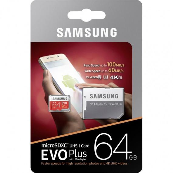 SAMSUNG Evo Plus 64 GB microSD