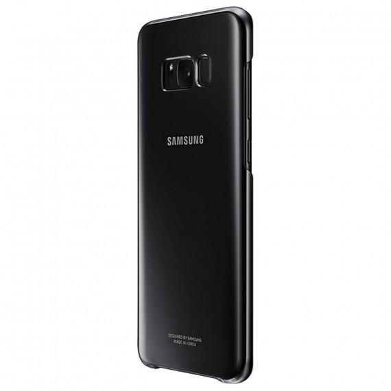 SAMSUNG Coque Transparente Noir Galaxy S8+