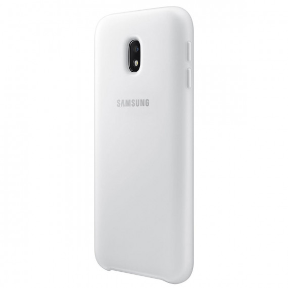 SAMSUNG Coque Double Protection Blanc Galaxy J3 2017