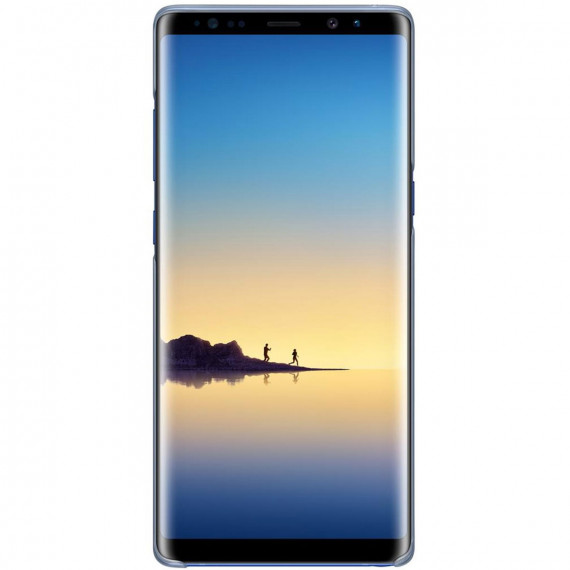 SAMSUNG Clear Cover Bleu Galaxy Note 8