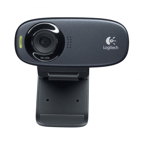 webcam Logitech HD Webcam C310 Noir, détail Vidéo: 1280 pixels 1x USB
