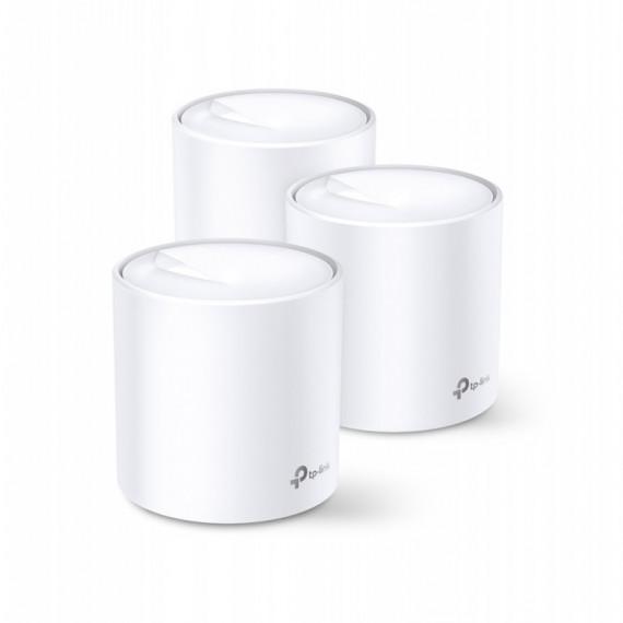 TPLINK AX3000 Whole Home Mesh Wi-Fi 6  AX3000 Whole Home Mesh Wi-Fi 6 Unit 574 Mbps at 2.4 GHz + 2402 Mbps at 5 GHz