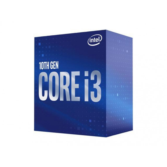 INTEL Core i3-10100F 3.6GHz LGA1200 Tray  Core i3-10100F 3.6GHz LGA1200 6M Cache No Graphics Tray CPU