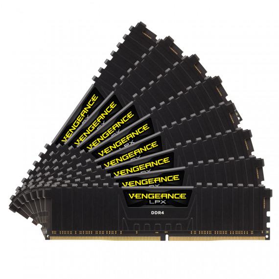 CORSAIR Vengeance LPX Series Low Profile 128 Go (8x 16 Go) DDR4 2933 MHz CL16