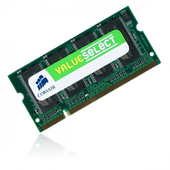 CORSAIR Value Select SO-DIMM 512 Mo DDR 400 MHz