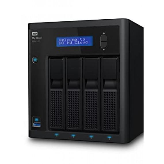 WESTERN DIGITAL WD My Cloud Pro PR4100 36To 4Bay NAS WD My Cloud Pro PR4100 56To 4Bay NAS 4xHDD 1.6GHz QuadCore processor 4Go RAM RAID 0 1 JBOD 2xUSB3.0 External RTL