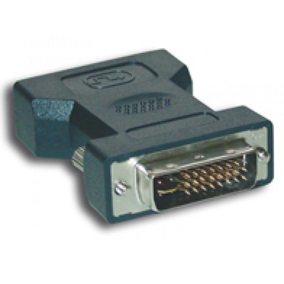 MCL Adaptateur DVI-I Male / HD15 femelle