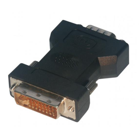 MCL Adaptateur DVI-I mâle / HD15 mâle