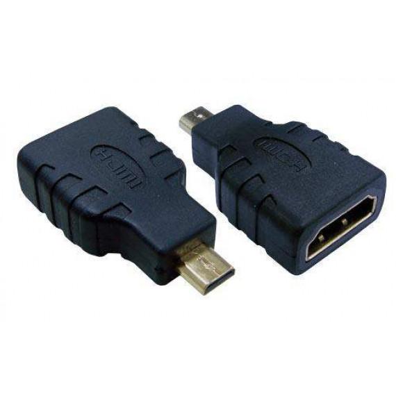 MCL Adaptateur HDMI type A femelle / D mâle