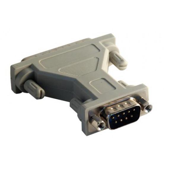MCL Adaptateur DB09 mâle / DB25 mâle