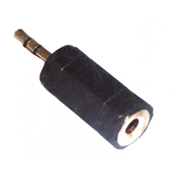 MCL Adaptateur stéréo JACK 3.5mm femelle / JACK 2.5mm mâle haute qualité