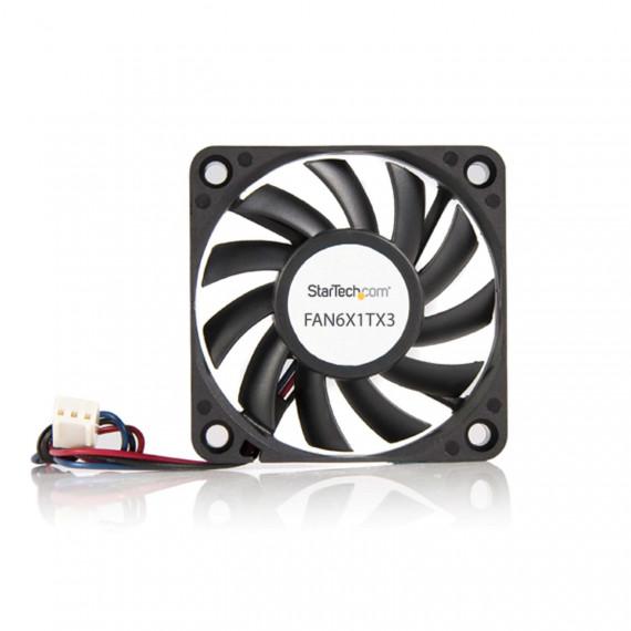 STARTECH Ventilateur PC à Roulement à Billes - Alimentation TX3 - 60 mm - 60 mm - 4000 trs/mn Roulement à Billes