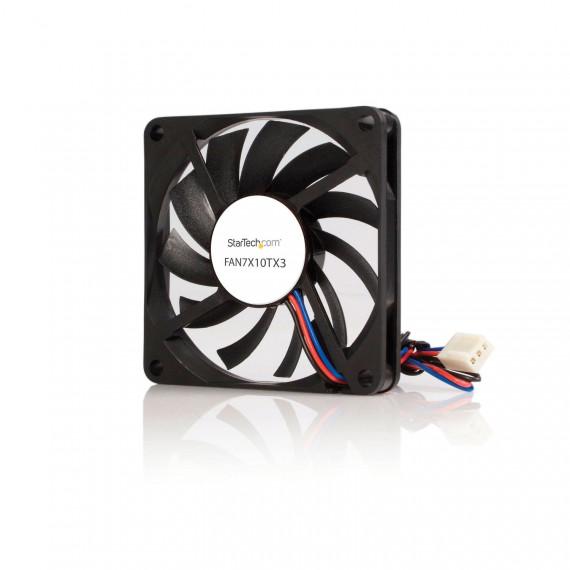 STARTECH FAN7X10TX3 Ventilateur PC à Double Roulement à Billes Alimentation TX3 70 mm 1x Molex Fan TX3 Femelle
