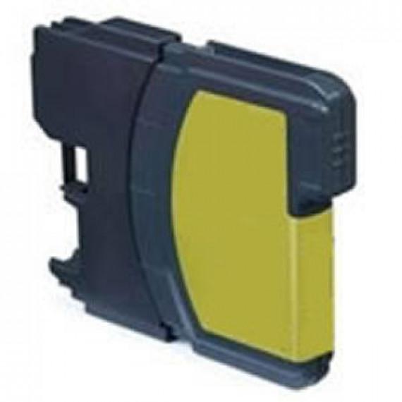 GENERIQUE Cartouche d'Encre Compatible LC1240Y/LC1280Y
