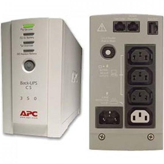 Onduleur off-line monophasé APC Back-UPS CS 350VA 230V (USB / Série)