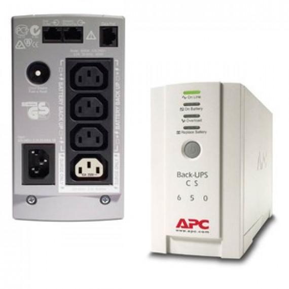 Onduleur APC Back-UPS CS 650VA 230V off-line monophasés 230V (USB)