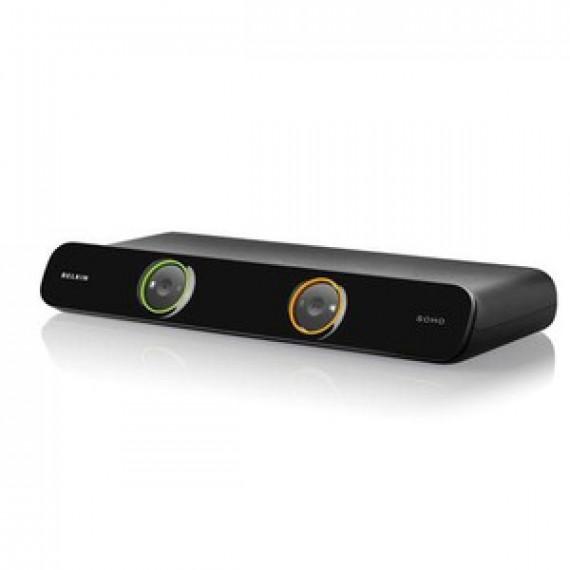Switch KVM Belkin OmniView Série Soho v2 2 ports (USB + VGA + Jack)