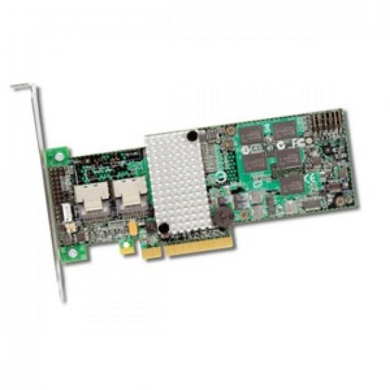 Carte contrôleur LSI MegaRAID SAS 9260-8i SGL - PCI-Express 8x (8 ports SAS/SATA 6 Gb/s internes) - (version bulk)