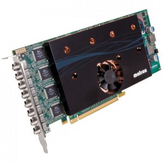 Carte graphique Matrox M9188 PCIe x16 Octo-Display 2 Go (8 sorties DisplayPort)