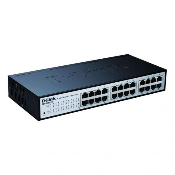 Switch web-manageable10/100 Mbps D-Link DES-1100-24