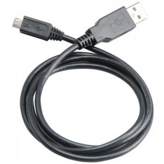 Câble Akasa USB 2.0 Type A/microB (Mâle/Mâle) - 1m