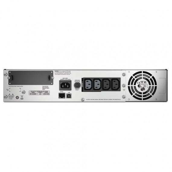 Onduleur APC Smart-UPS Rack-Mount 1500VA LCD 230V  line-interactive monophasé 230V (USB / Série / SmartSlot) - Rack 2U