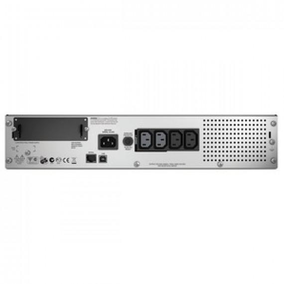 Onduleur APC Smart-UPS Rack-Mount 750VA LCD 230V line-interactive monophasé 230V (USB / Série / SmartSlot) - Rack 2U