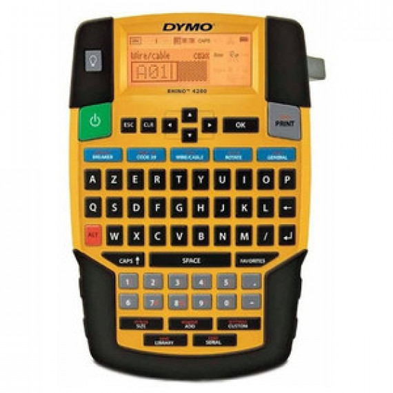 Imprimante à étiquettes DYMO RHINO 4200 6 - 19 mm