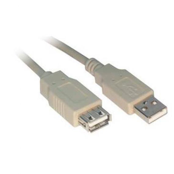 GENERIQUE Rallonge USB 2.0 Type AA (Mâle/Femelle)