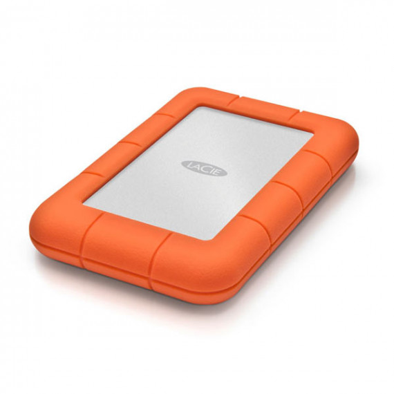Disque dur externe LaCie Rugged Mini 1 To (USB 3.0) antichoc 2.5''