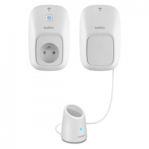 Interrupteur électrique  Belkin Wemo Switch + Motion Sensor contrôlable par smartphone et détecteur de mouvement