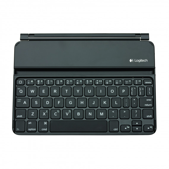 Clavier Bluetooth  Logitech Ultrathin Keyboard mini Noir - pour iPad mini - AZERTY français