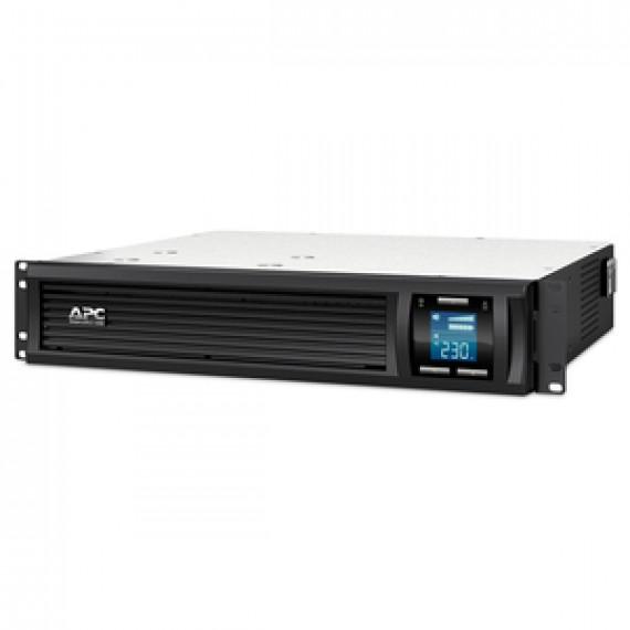 Onduleur line-interactive monophasé  APC Smart-UPS C 1500VA Rack  LCD 230V (USB / Série) - Rack 2U