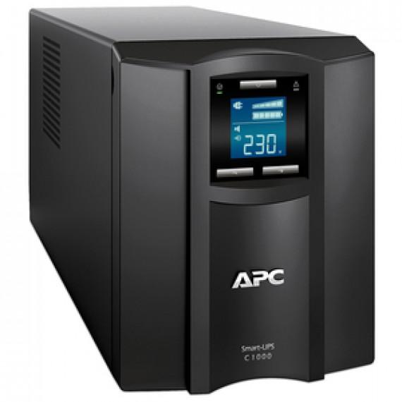 Onduleur line-interactive APC SMART-UPS C 1500VA TOUR monophasé LCD 230V (USB / Série)