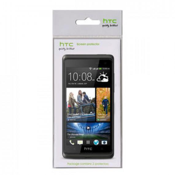 Accessoire divers pour téléphone portable - HTC SP P930 - Lot de 2 Ecrans de protection pour HTC Desire 600