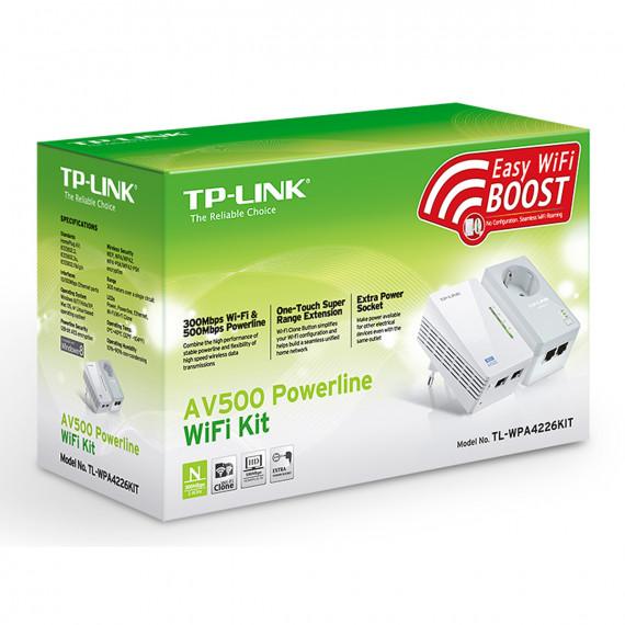 Kit Extenseur CPL TP-LINK TL-WPA4226KIT AV500 Wi-Fi N 300