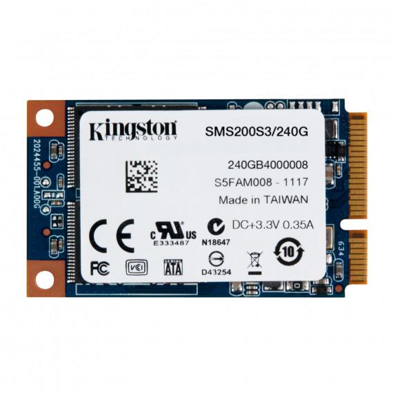 KINGSTON SSDNow mS200 mSATA 240 Go
