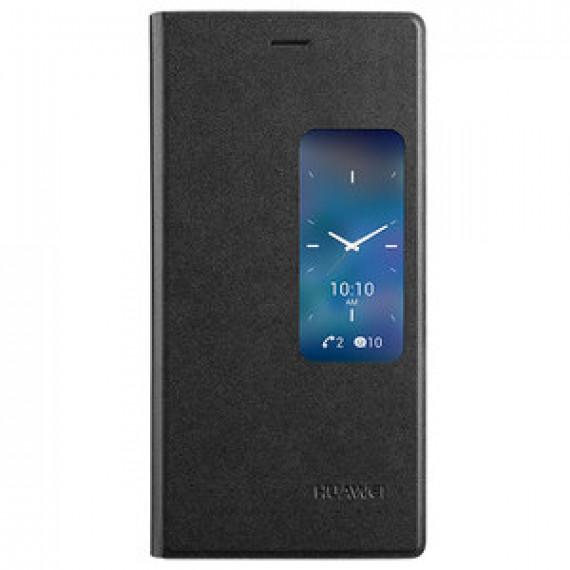 Huawei Etui Flip Case avec fenêtre pour Ascend P7 Noir