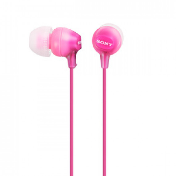 Ecouteurs Sony MDR-EX15LP Rose intra-auriculaires