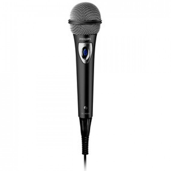 Microphone filaire Philips SBCMD150 dynamique unidirectionnel