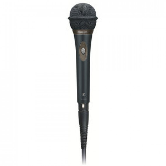 Microphone filaire Philips SBCMD650 dynamique unidirectionnel