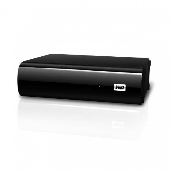 "Disque dur externe 3.5"" sur port USB 3.0/USB 2.0 WD My Book AV-TV 1To"